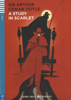 """A STUDY IN SCARLET. """"Young Adult Eli Readers"""", A1 - Stage 1 + CD"""