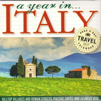 A YEAR IN ITALY PAGE-A-DAY CALENDAR 2017