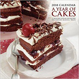 A YEAR OF CAKES 2018. /стенен календар/