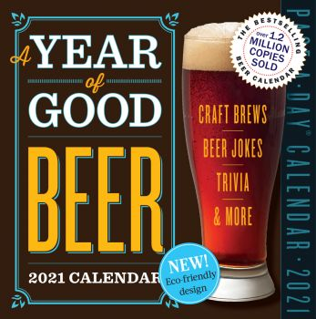 A YEAR OF GOOD BEER PAGE-A-DAY CALENDAR 2021