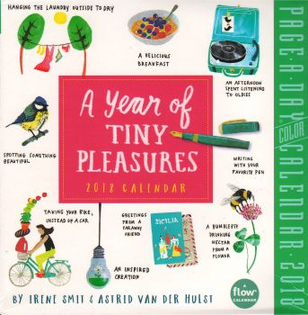 A YEAR OF TINY PLEASURES PAGE-A-DAY CALENDAR 2018