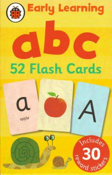 "ABC FLASH CARDS. ""Early Learning"", /Ladybird/"