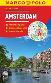 "AMSTERDAM. ""Marco Polo City Map"""