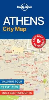 "ATHENS. ""Lonely Planet City Map"""
