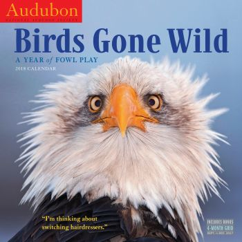 AUDUBON BIRDS GONE WILD 2018. /стенен календар/