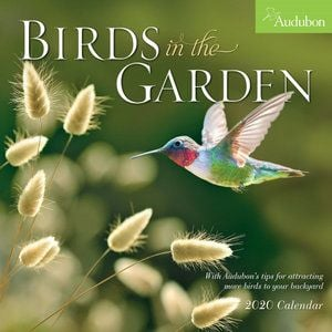 AUDUBON BIRDS IN THE GARDEN CALENDAR 2020. /стенен календар/