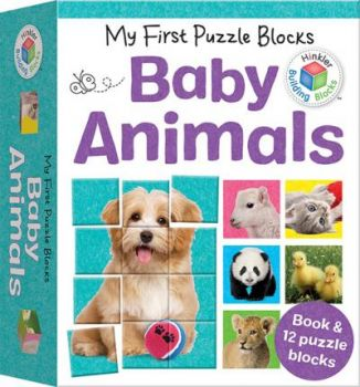 "BABY ANIMALS. ""My First Puzzle Blocks"""