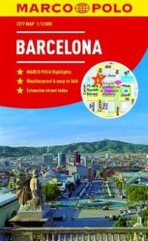 "BARCELONA. ""Marco Polo City Map"""