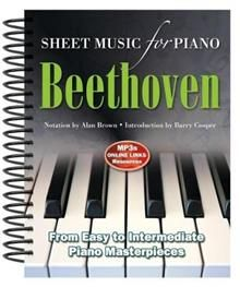 BEETHOVEN: Sheet Music for Piano
