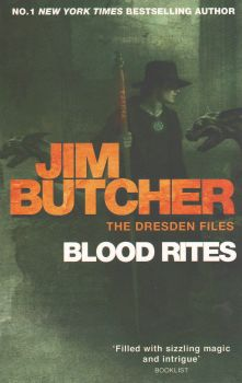"""BLOOD RITES. """"The Dresden Files"""", Book 6"""