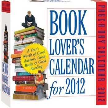 BOOK LOVER`S 2012. (Calendar/Page A Day)