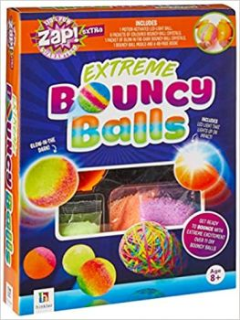 "EXTREME BOUNCY BALLS. ""Zap! Extra"""