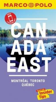"""CANADA EAST. """"Marco Polo Travel Guides"""""""