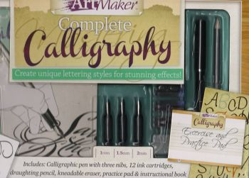 "COMPLETE CALLIGRAPHY: Kit. ""Art Maker"""