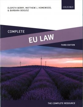 COMPLETE EU LAW, 3rd Edition