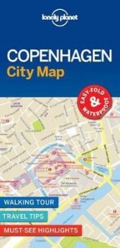 "COPENHAGEN. ""Lonely Planet City Map"""