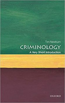 "CRIMINOLOGY. ""A Very Short Introduction"""