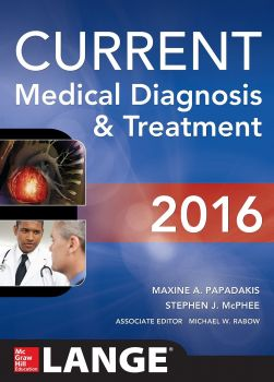 CURRENT MEDICAL DIAGNOSIS AND TREATMENT, 55th Edition