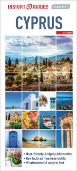 """CYPRUS. """"Insight Guides Flexi Map"""""""