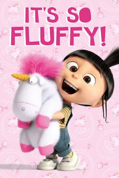 DESPICABLE ME (IT`S SO FLUFFY) MAXI POSTER