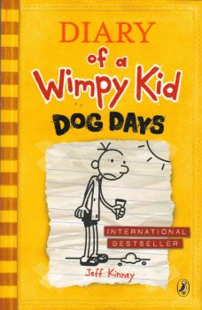 DIARY OF A WIMPY KID: Dog Days , Book 4. (Jeff K