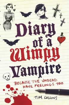 DIARY OF A WIMPY VAMPIRE: Because The Undead Have Feelings Too