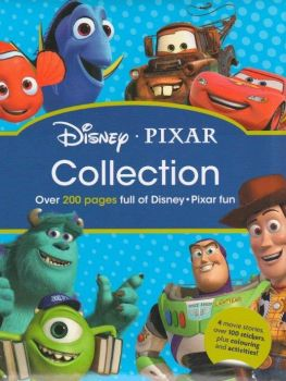 DISNEY PIXAR COLLECTION: Over 200 Pages of Disney/Pixar Fun!
