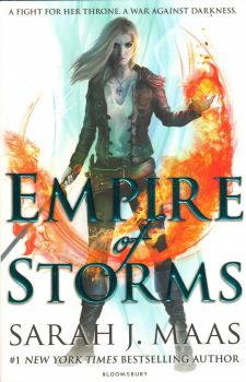 "EMPIRE OF STORMS. ""Throne of Glass"", Book 5"
