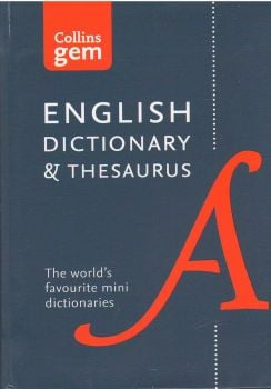 "ENGLISH DICTIONARY & THESAURUS. ""Collins Gem"""