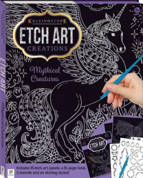 """ETCH ART CREATIONS: Mythical Creatures. """"Kaleidoscope"""""""