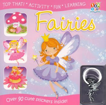 FAIRIES: Over 90 Cute Stickers Inside!