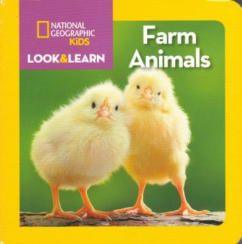 "FARM ANIMALS. ""Look&Learn"""