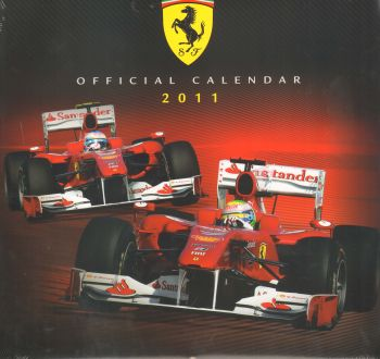 FERRARI 2011: Official Calendar. /стенен календа