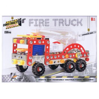 """FIRE TRUCK. """"Construct It"""" - 239 Pieces"""