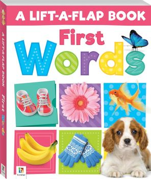 "FIRST WORDS. ""Lift-a-Flap"""