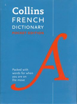 """FRENCH DICTIONARY. """"Collins Pocket"""""""