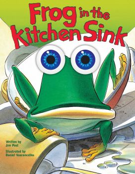 FROG IN THE KITCHEN SINK