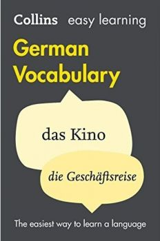 """GERMAN VOCABULARY. """"Collins Easy Learning"""""""