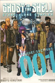 GHOST IN THE SHELL: Stand Alone Complex, Volume 1