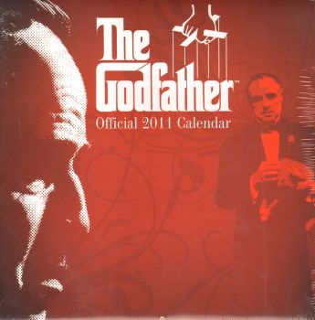 THE GODFATHER OFFICIAL 2011 CALENDAR. /стенен ка