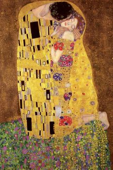 GUSTAV KLIMT`S THE KISS MAXI POSTER