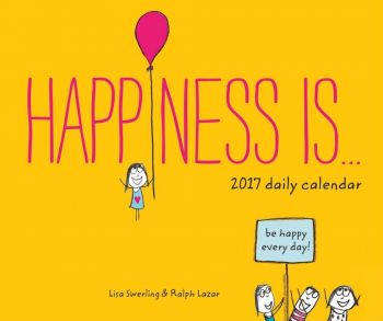 HAPPINESS IS...: 2017 Daily Calendar