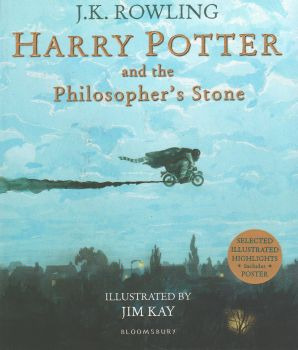 HARRY POTTER AND THE PHILOSOPHER`S STONE, Illustrated Edition