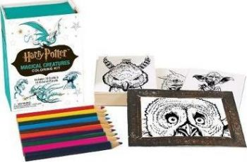 HARRY POTTER MAGICAL CREATURES: Coloring Kit