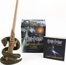 HARRY POTTER VOLDEMORT`S WAND WITH STICKER KIT : Lights Up!