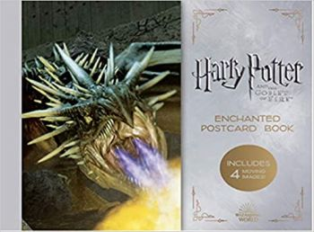 HARRY POTTER AND THE GOBLET OF FIRE: Enchanted Postcard Book