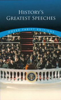 """HISTORY`S GREATEST SPEECHES. """"Dover Thrift Editions"""""""