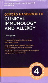 OXFORD HANDBOOK OF CLINICAL IMMUNOLOGY AND ALLERGY, 4th Edition