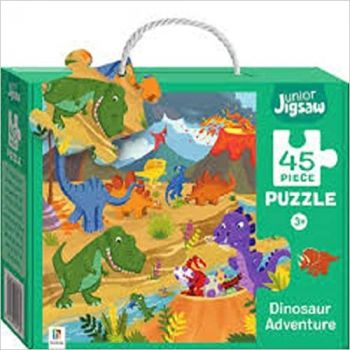"DINOSAUR ADVENTURE. ""Junior Jigsaw"""