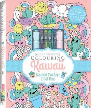 "COLOURING: Kawaii. ""Kaleidoscope"""